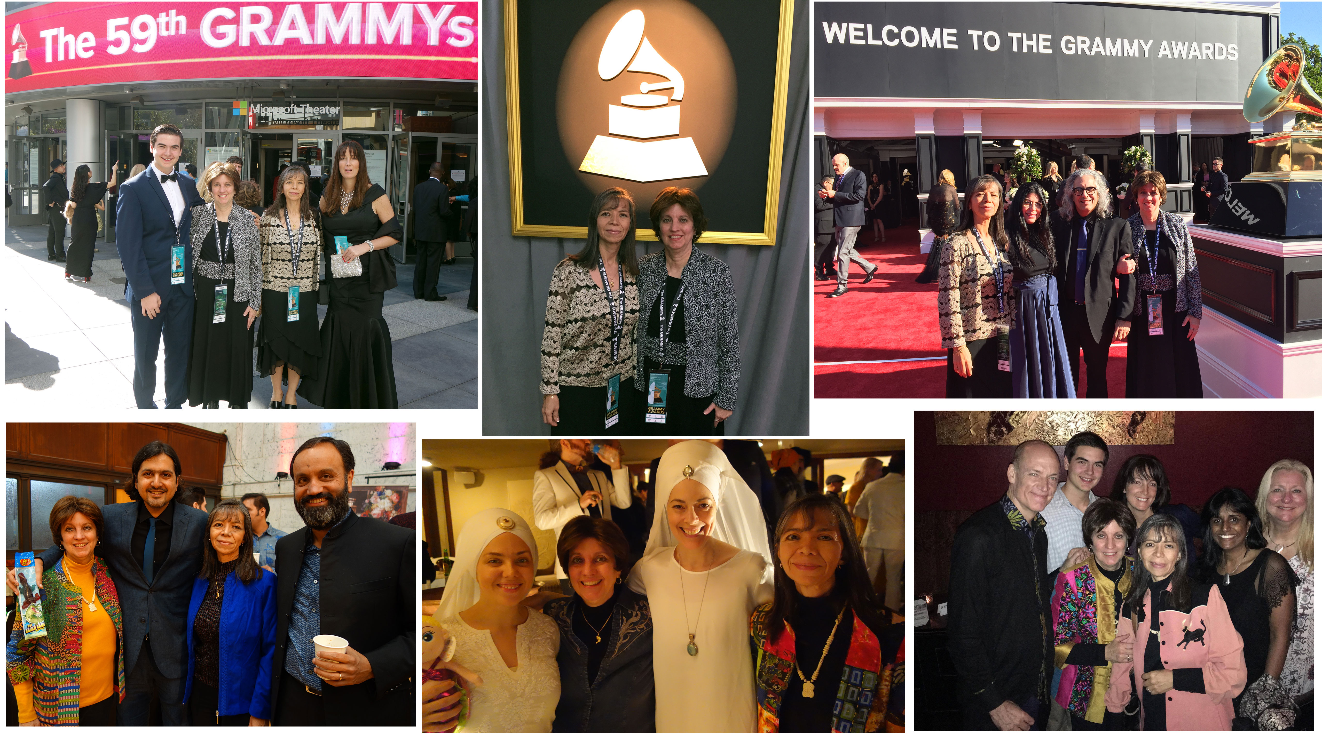 Pictures at the Grammy's